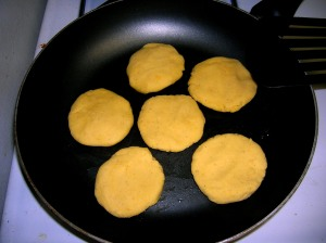 my first litter of arepas