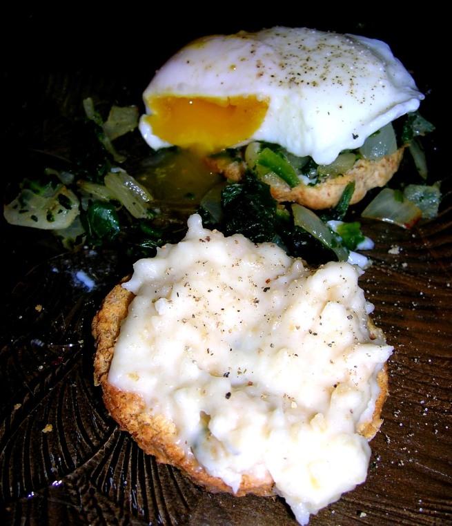 eggs florentine! ish