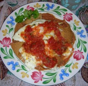 Huevos Rancheros by my dad