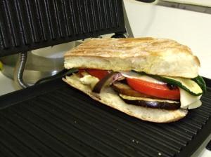 pre-pressed panini