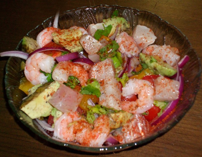 spicy ceviche