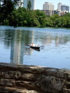 Austin kayaker
