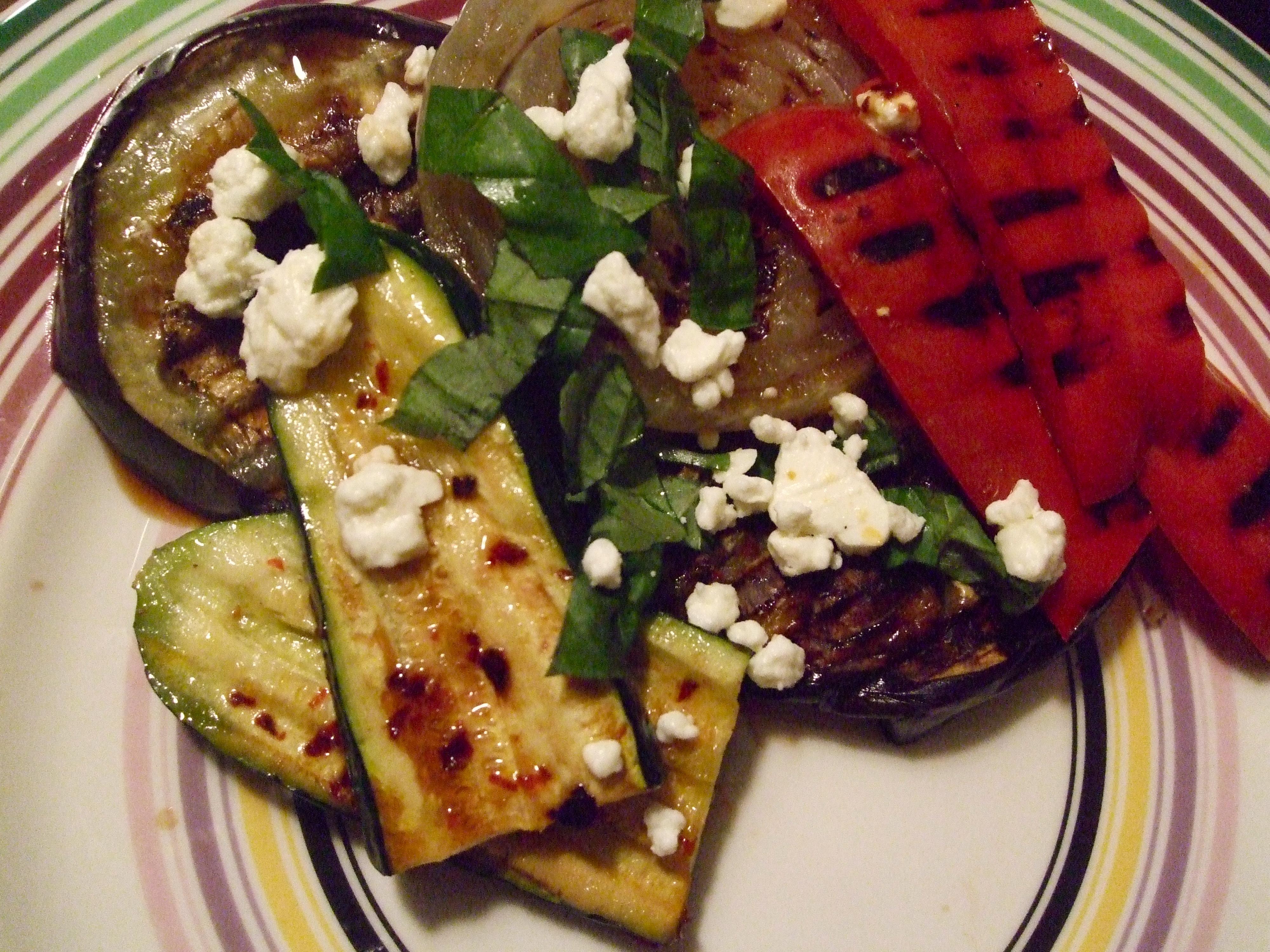 ... grilled ratatouille salad tastefood grilled ratatouille salad